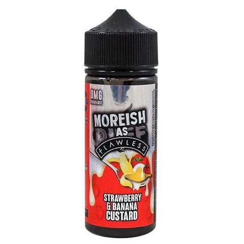 E-Liquid Moreish as Flawless Strawberry Banana Custard