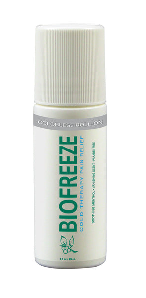 Biofreeze roll-ons, colorless (case of 12) - RTOMed