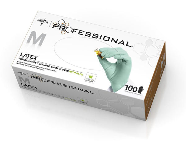 Medline Professional Latex Exam Gloves