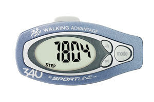 Step & Distance Pedometer with Belt Clip