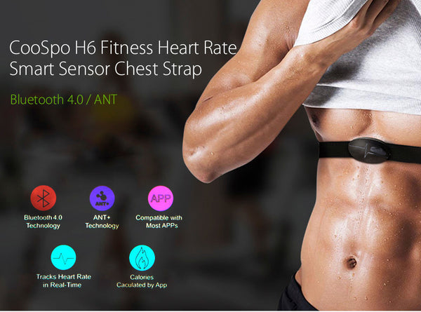 CooSpo H6 Fitness Heart Rate Monitor