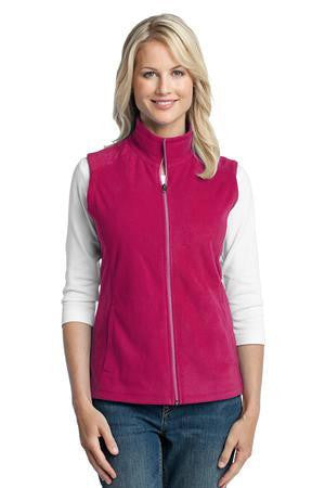 L226 Ladies Microfleece Vest