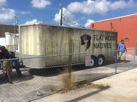 Fully Wrapped Enclosed Trailer