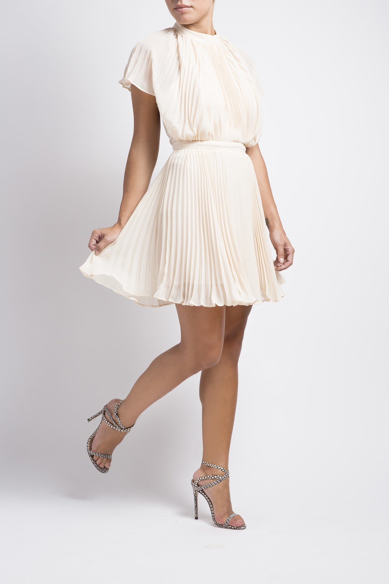 Come Back Mini Dress - Cream