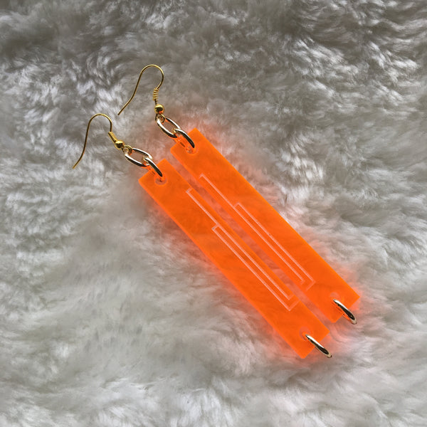 """Deco Bar"" Earrings"