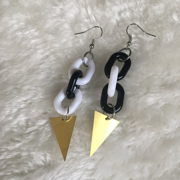 """Get to the Point"" Earrings"