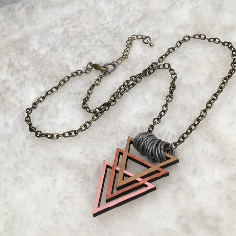"""Copper Point"" Necklace"