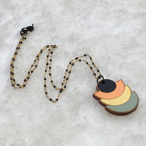 """Deco Disc"" Necklace"