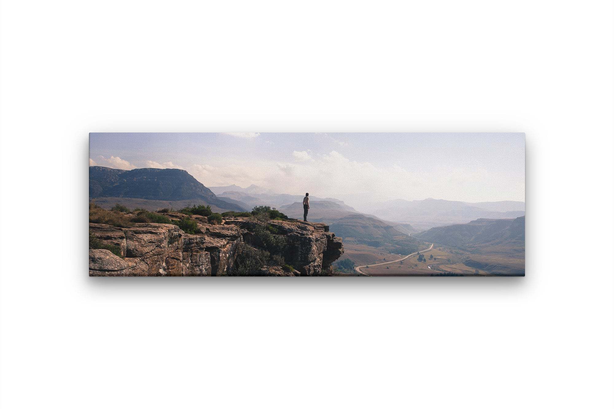 Panoramic Canvas Print of beautiful view