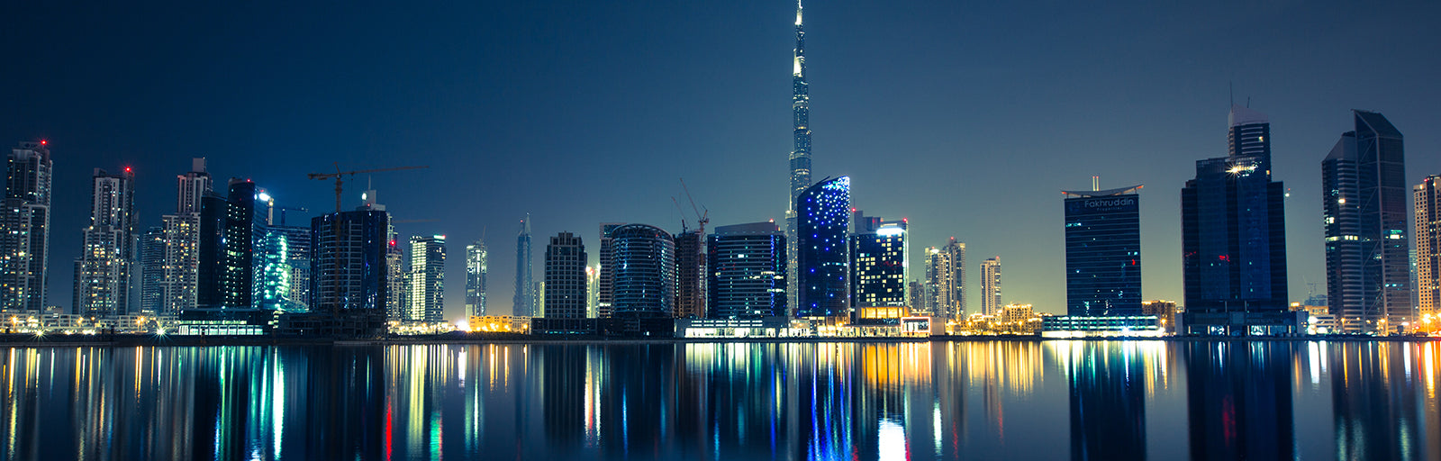 Panoramic skyline Dubai