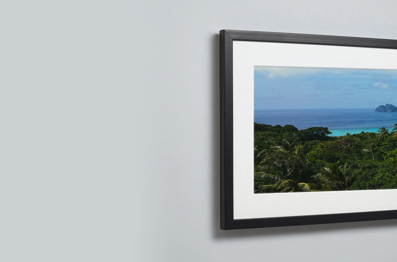 Ultra Panoramic Framed Mounted Print