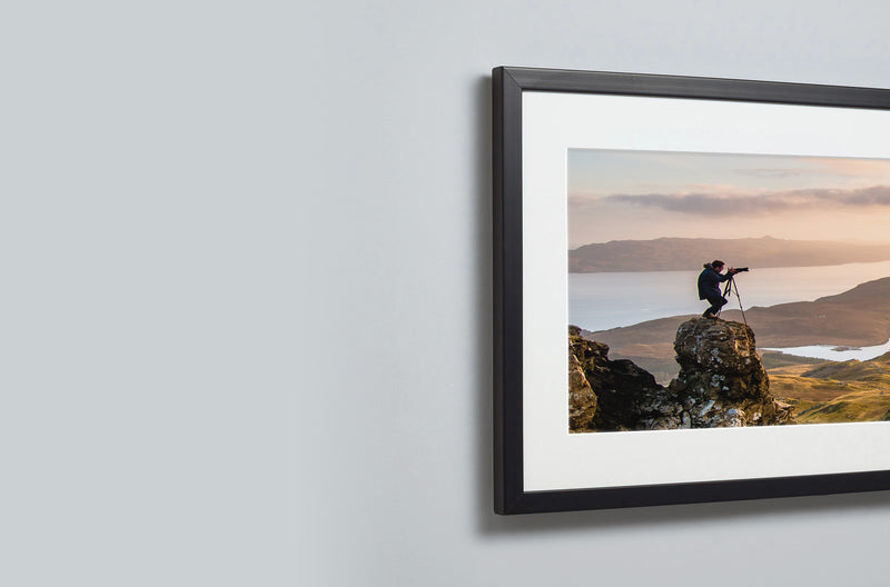 Panoramic Framed Mounted Print