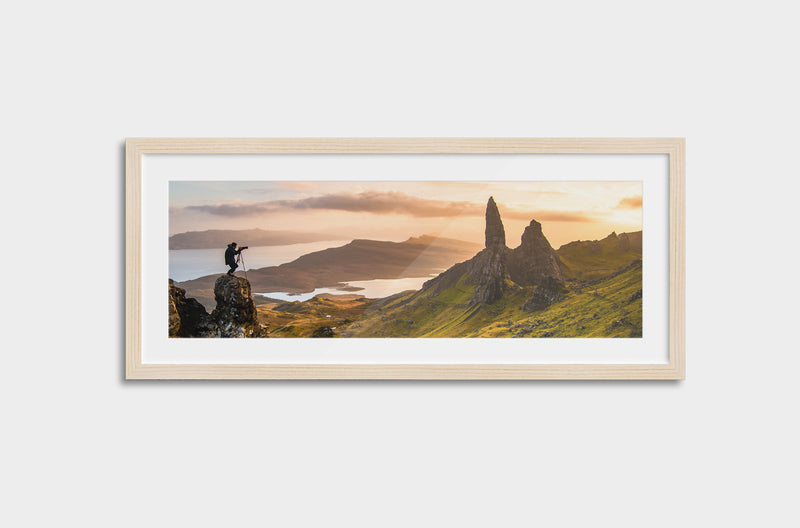 Panoramic Framed Mounted Photo Print