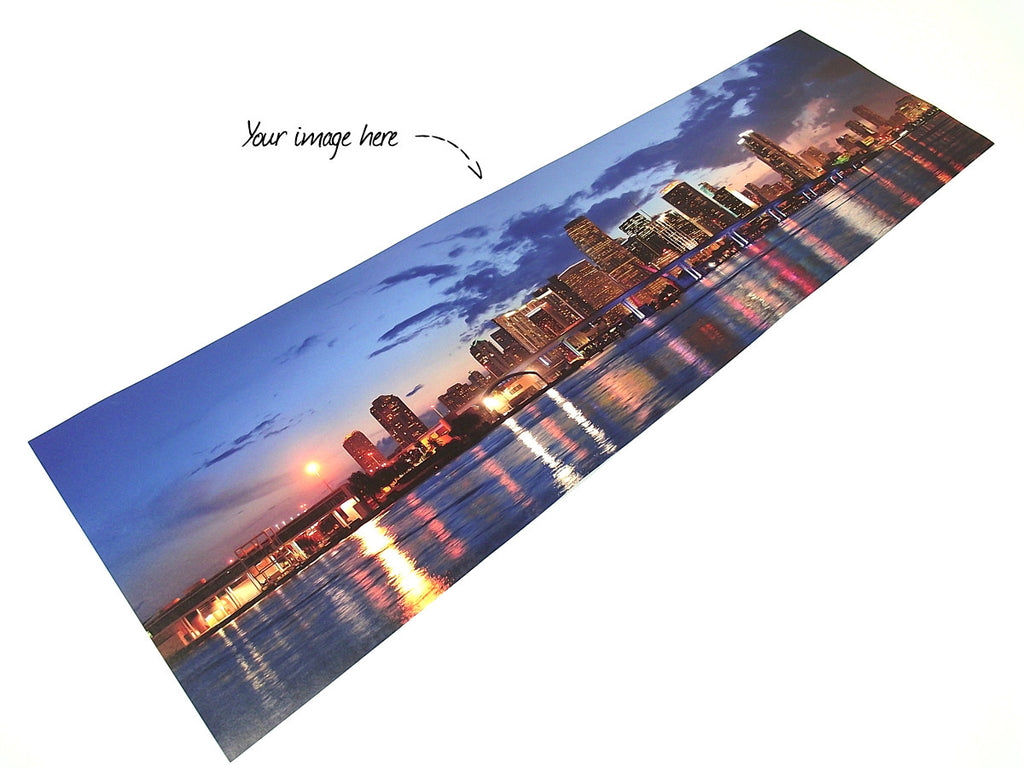 Custom size panoramic print