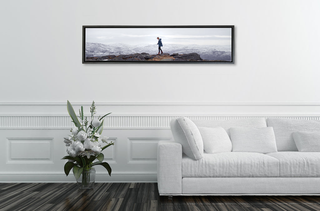Ultra Panoramic Floating Framed Canvas