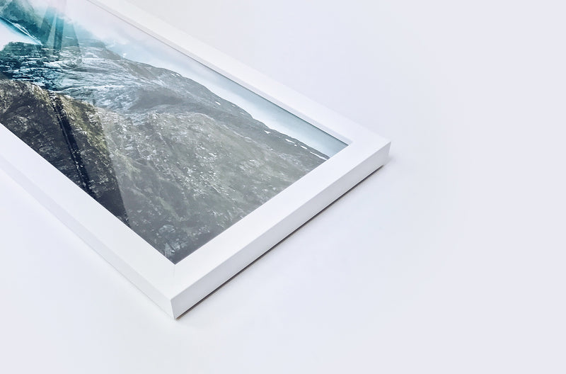 Ultra panoramic framed photo print