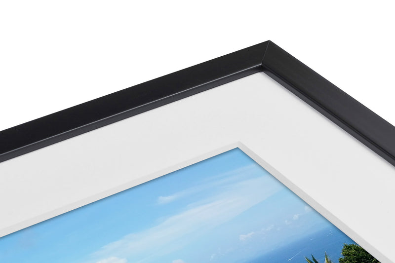 Frame with white mount