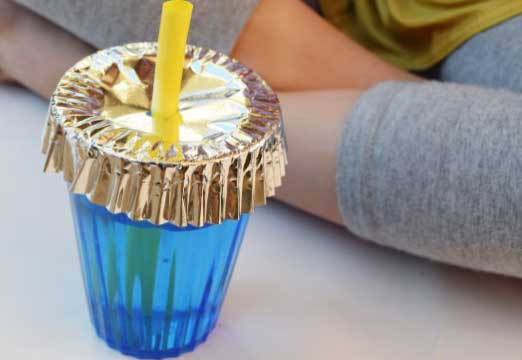 Beach Hack 4: Insect-Proof Your Drinks