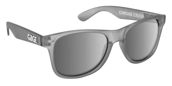 Chrome Crush x Silver Sunglasses