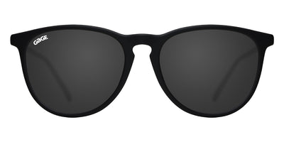 Black Round Eye Sunglasses With Smoke Lenses