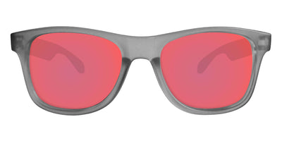 Grey Sunglasses With Berry Pink Lenses