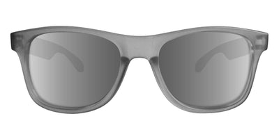 Grey Sunglasses With Silver Mirrored Lenses