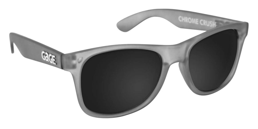 Grey Sunglasses With Smoke Lenses