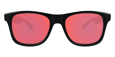 Black Sunglasses With Berry Pink Lenses