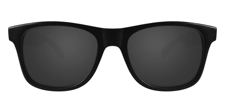 Black Sunglasses With Smoke Lenses