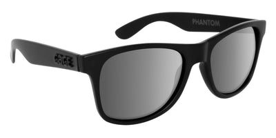 Black Sunglasses With Silver Mirrored Lenses