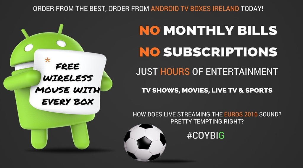 Summer sale now on at Android TV boxes Ireland