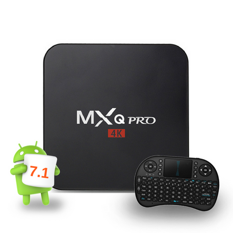 MxQ Pro Android TV box only available from Android TV Ireland
