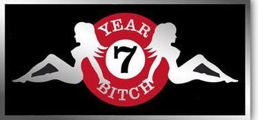 7 Year Bitch - Live At Moe Sticker