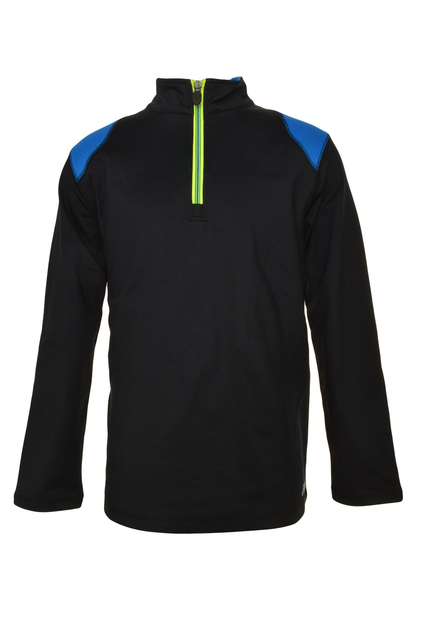 Asics Youth Quarter Zip Pullover Jacket,Sweaters,Asics - Discount Divas