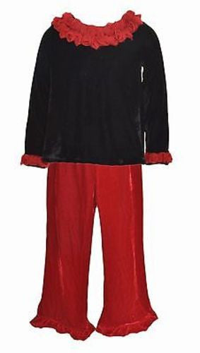 Greggy Girl Velour Playwear Outfit,Outfit,Greggy Girl - Discount Divas
