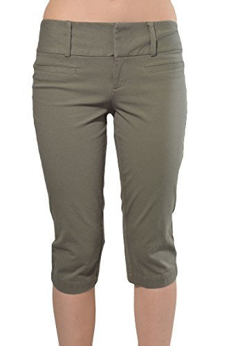 INC Sunkissed Stretch Fit Capri Pants - The Discount Divas