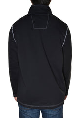 Nautica Mens Half Zip Mock Neck Sweatshirt,Shirts,Nautica - Discount Divas
