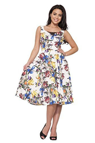 Spring Fever Floral Swing Dress,Dress,H & R - Discount Divas