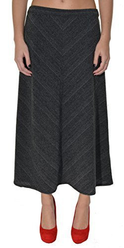 Highness Soft Knit Pull-On Midi Skirt,Skirts,Highness NYC - Discount Divas