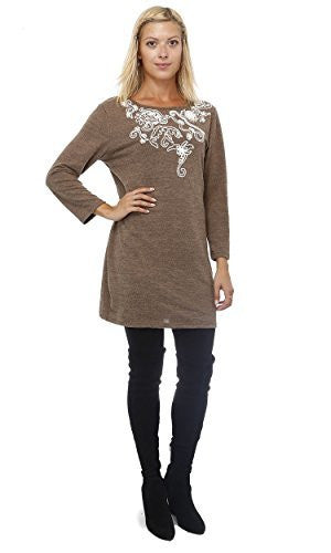 Highness Serpentine Embroidered Sweater - The Discount Divas