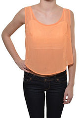 Skull Chiffon Open Back Crop Top,Shirts,Sace - Discount Divas