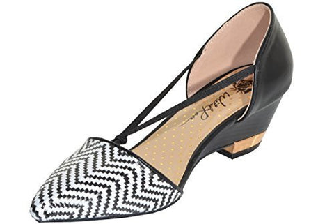 Bumper Dolly07 Womens Chevron Wedge,Shoes,Bumper - Discount Divas