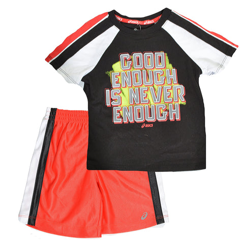 Asics Little Boys 2pc Basketball Set,Outfits & Sets,ASICS - Discount Divas
