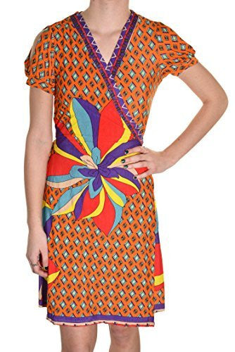 Color me Retro Printed Wrap Dress,Dress,Grevergate - Discount Divas