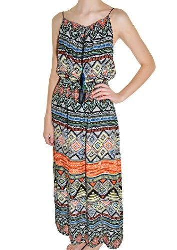 Highness NYC Feather Tie Maxi Dress,Dress,Highness NYC - Discount Divas