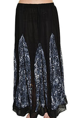 Highness NYC Chiffon Godet Long Skirt,Skirts,Highness NYC - Discount Divas
