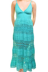 Sol Clothing Tiered Lace Maxi Dress,Dress,Sol Clothing - Discount Divas