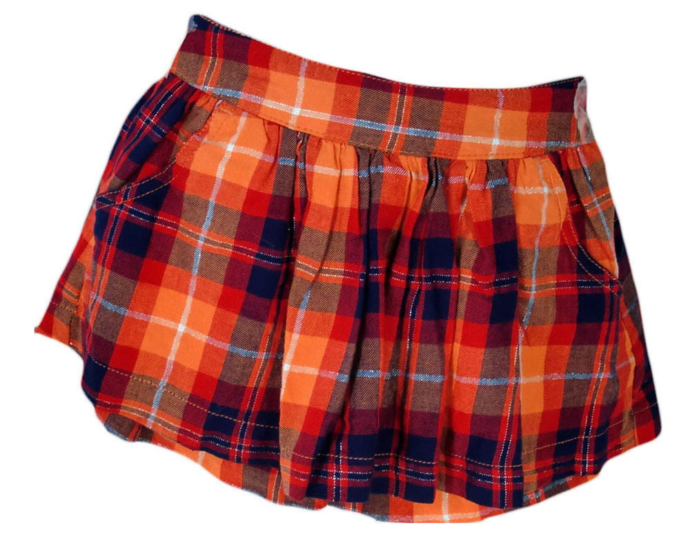 Justice Girls Plaid Flannel Skort,Skirts,Justice - Discount Divas