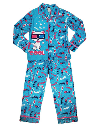 St Eve Girls Cardigan Pajama Set,Sleepwear,St Eve - Discount Divas