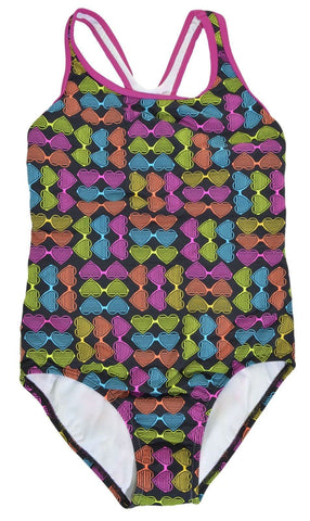 Speedo Girls RacerBack Swimsuit,Swimwear,Speedo - Discount Divas